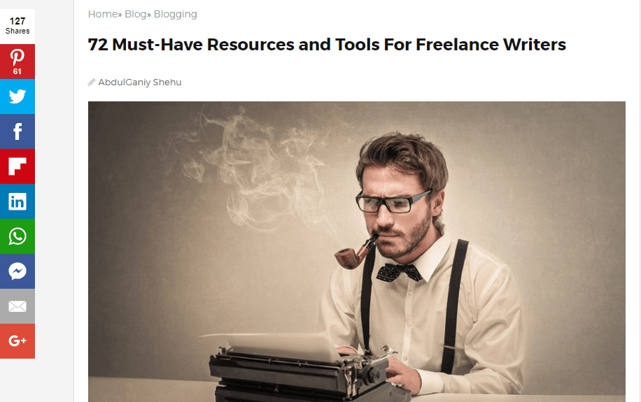 resources for freelance writers jeff bullas